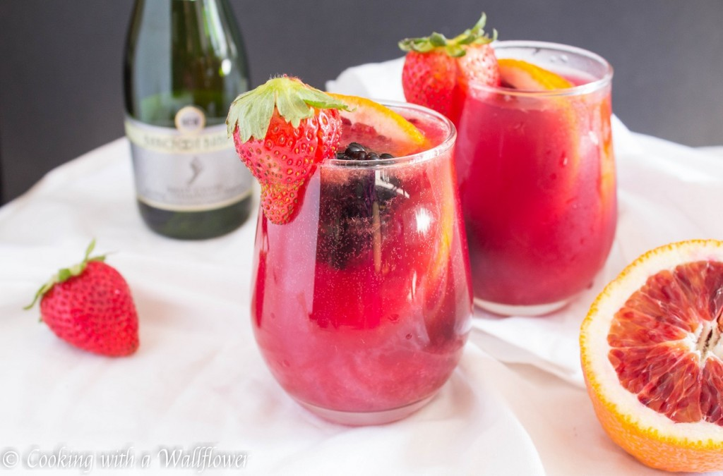 Blood Orange Mimosa | Cooking with a Wallflower