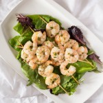 Parmesan Ranch Shrimp Kebabs
