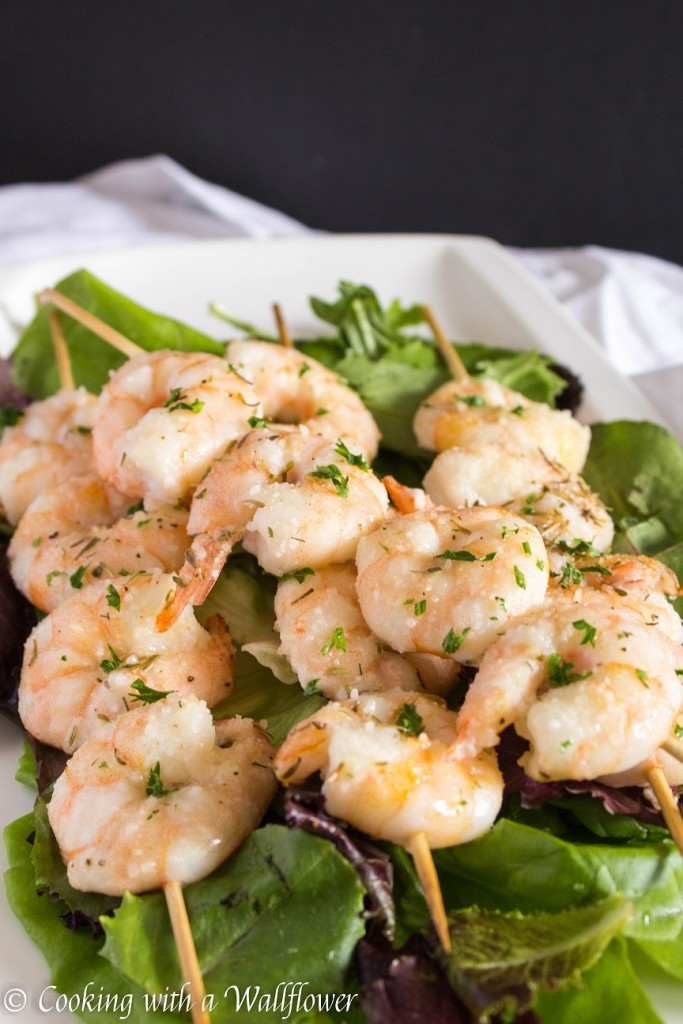 Parmesan Ranch Shrimp Kebabs   Cooking with a Wallflower