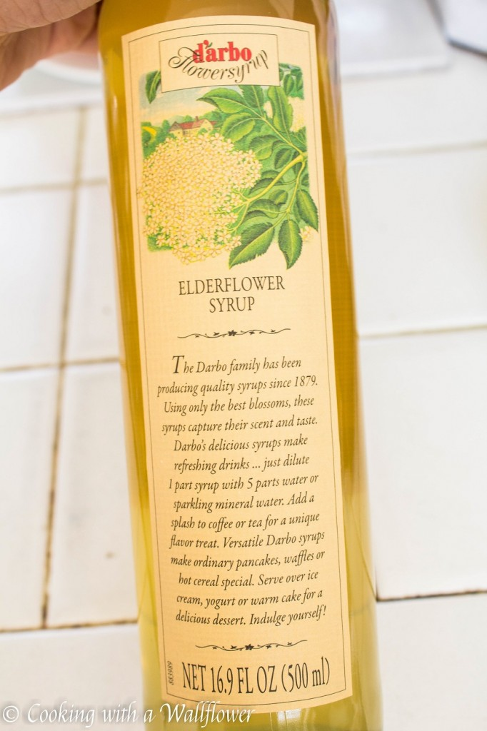 Triple Berry Elderflower Spritzer | Cooking with a Wallflower