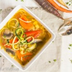Farmer's Market Vegetable Noodle Soup