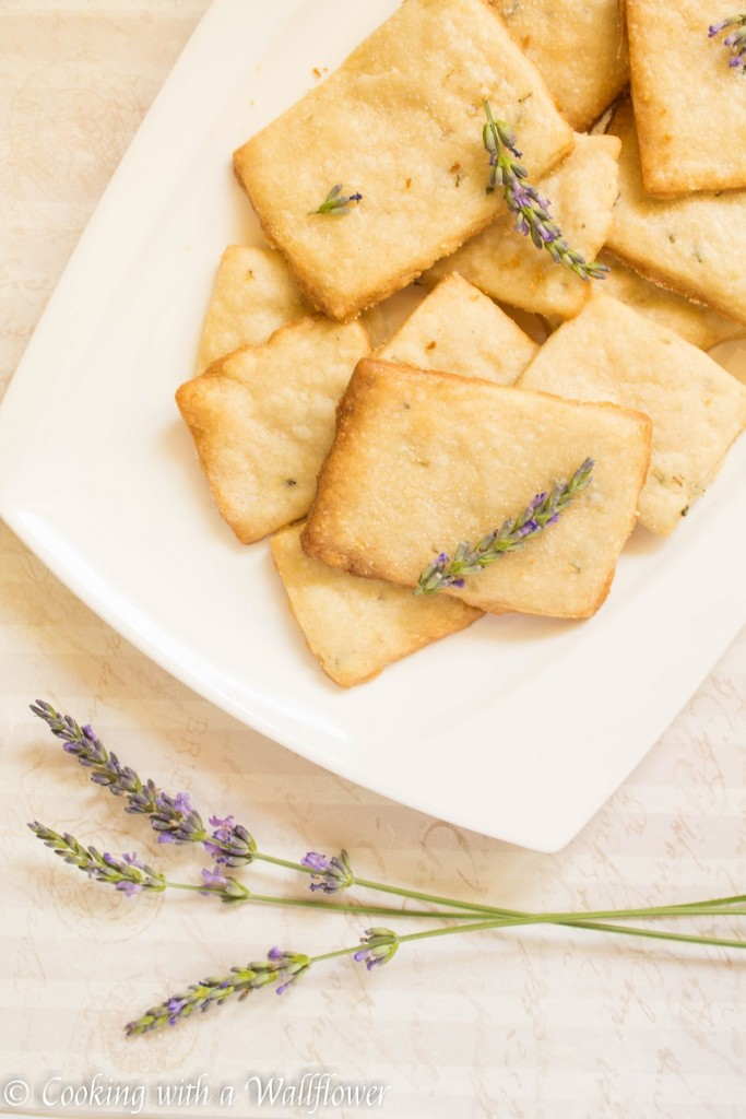 Lavender Shortbread Cookies   Cooking with a Wallflower