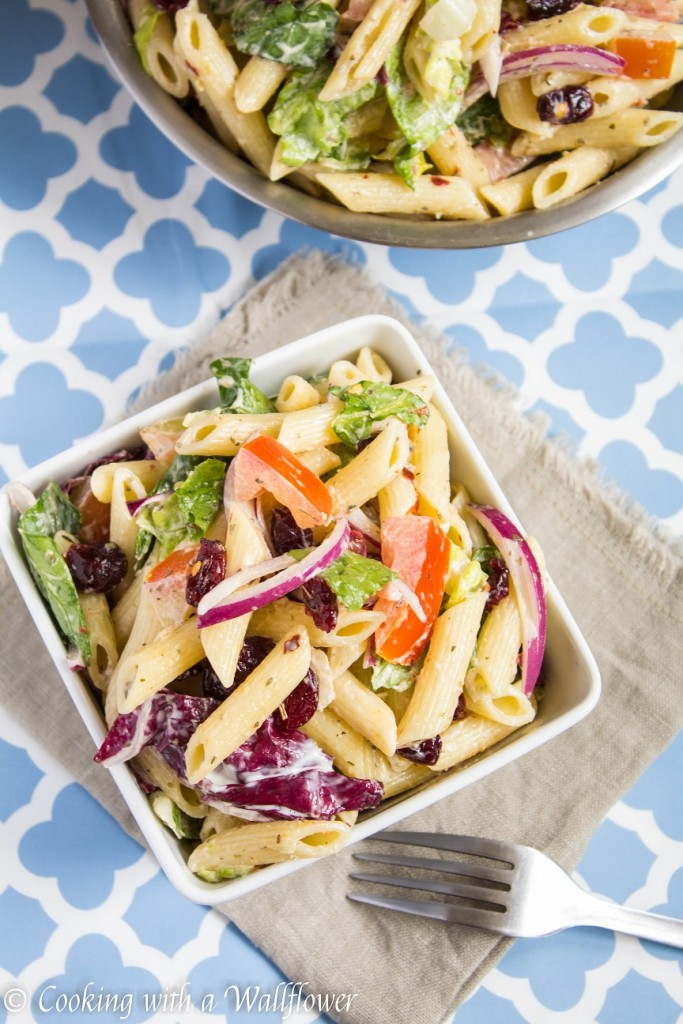 Easy Pasta Salad | Cooking with a Wallflower