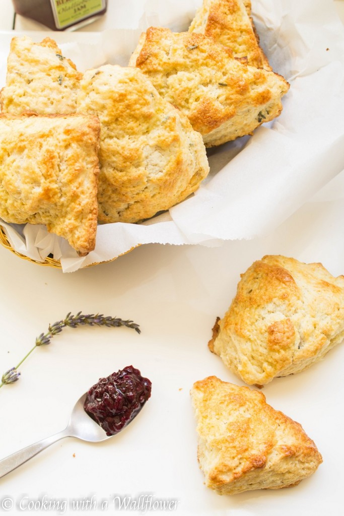 Lavender Scones | Cooking with a Wallflower