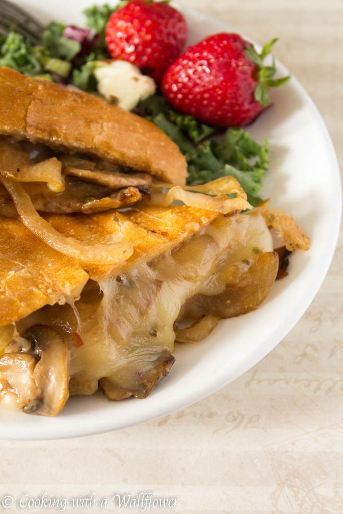 Spicy Mushroom Melt   Cooking with a Wallflower