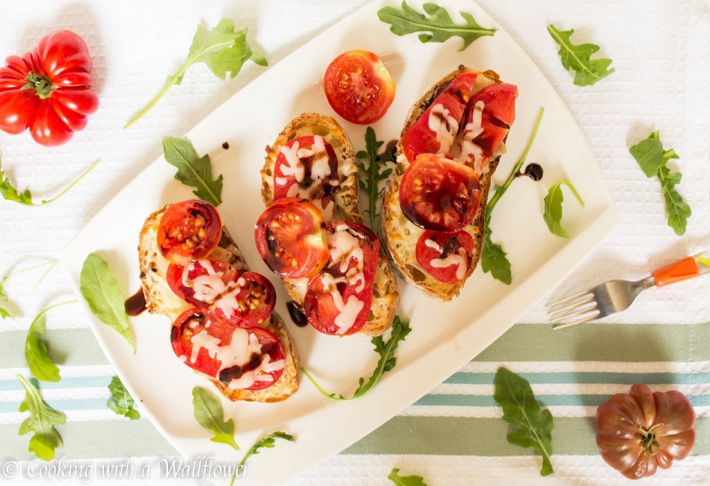 Heirloom Tomato Toast | Cooking with a Wallflower