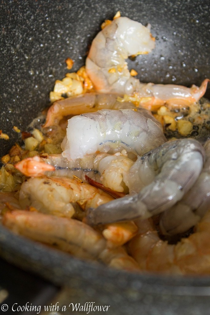 Spicy Garlic Prawns   Cooking with a Wallflower