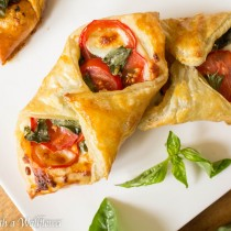 Tomato Basil Pastries   Cooking with a Wallflower
