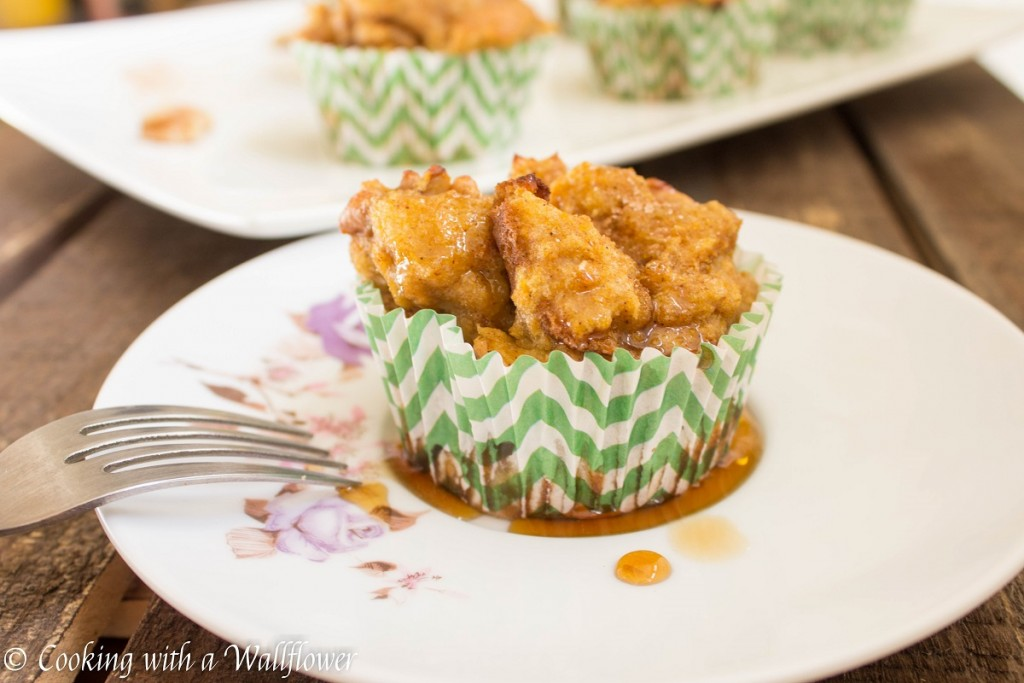 Baked Pumpkin Walnut French Toast Cups | Cooking with a Wallflower