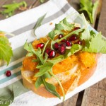 Roasted Maple Sage Butternut Squash Toast