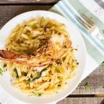 Spicy Sage Garlic Butter Lobster Penne