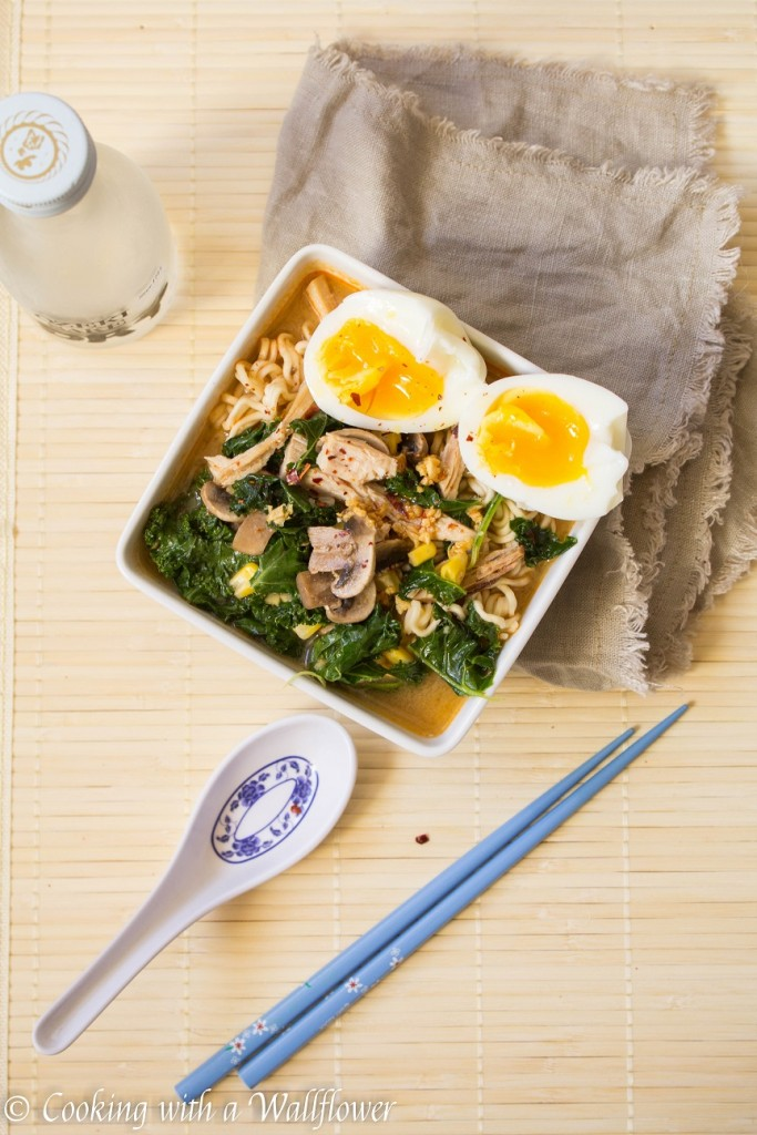 Leftover Turkey Spicy Miso Ramen | Cooking with a Wallflower