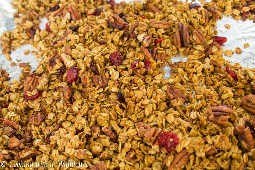 Pumpkin Pecan Maple Granola | Cooking with a Wallflower