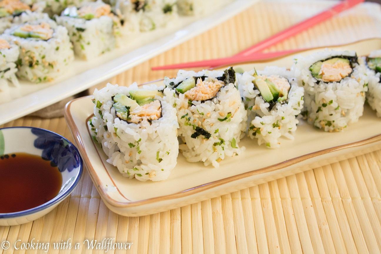 Spicy Chicken Sushi Roll