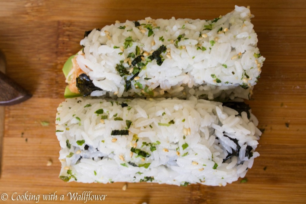 Spicy Chicken Sushi Roll | Cooking with a Wallflower
