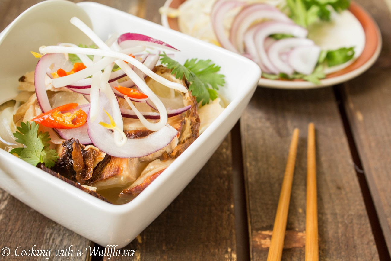 Turkey Pho - Cooking with a Wallflower
