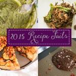 2015 Recipe Fails
