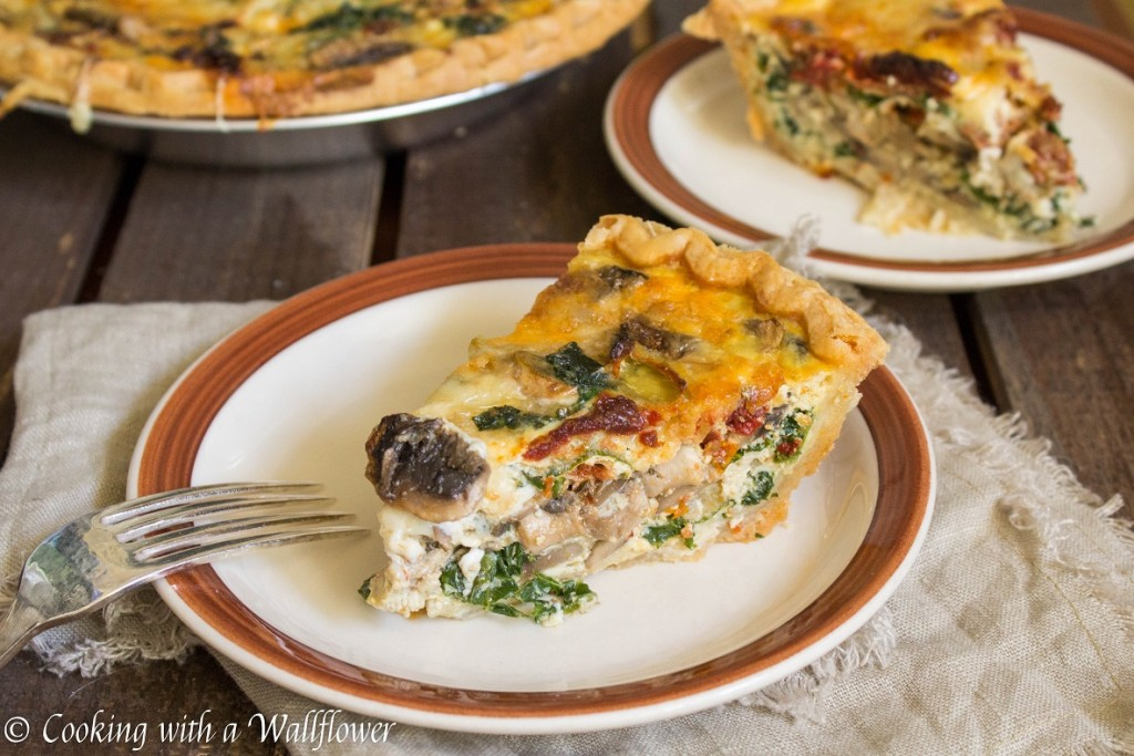 Autumn Harvest Quiche | Cooking with a Wallflower