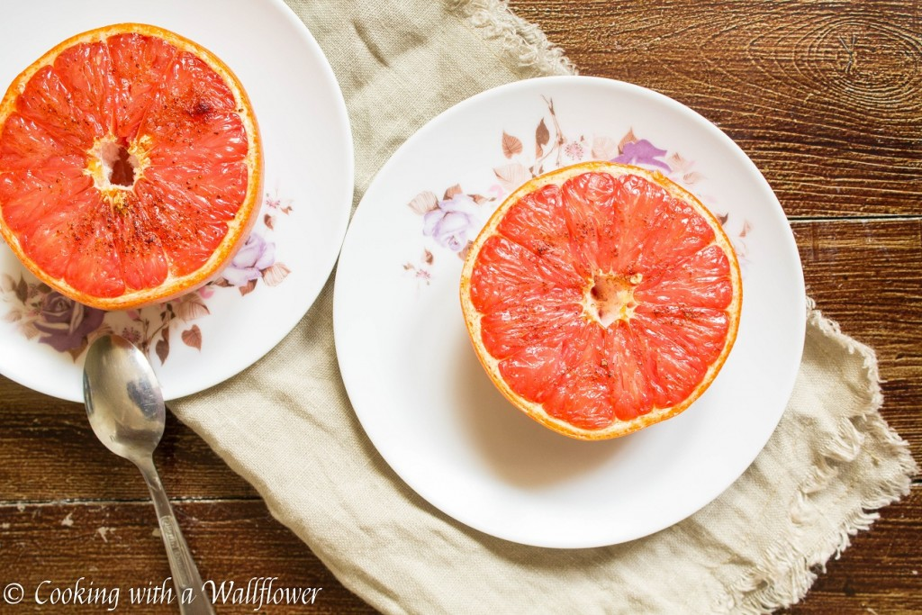 Broiled Honey Grapefruits | Cooking with a Wallflower