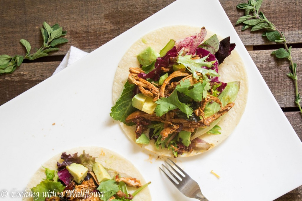 Honey Chipotle Chicken Tacos | Cooking with a Wallflower