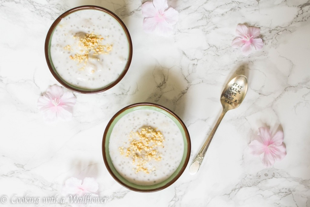 Banana Tapioca Pudding in Coconut Milk | Cooking with a Wallflower
