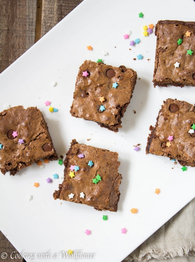 Chewy Mocha Brownies | Cooking with a Wallflower