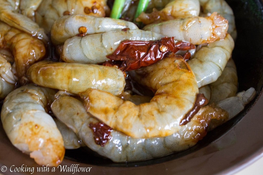 ... Shrimp with Roasted Garlic Broccolini | Cooking with a Wallflower