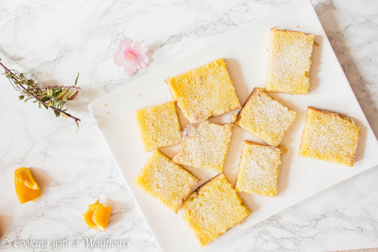 Meyer Lemon Citrus Bars