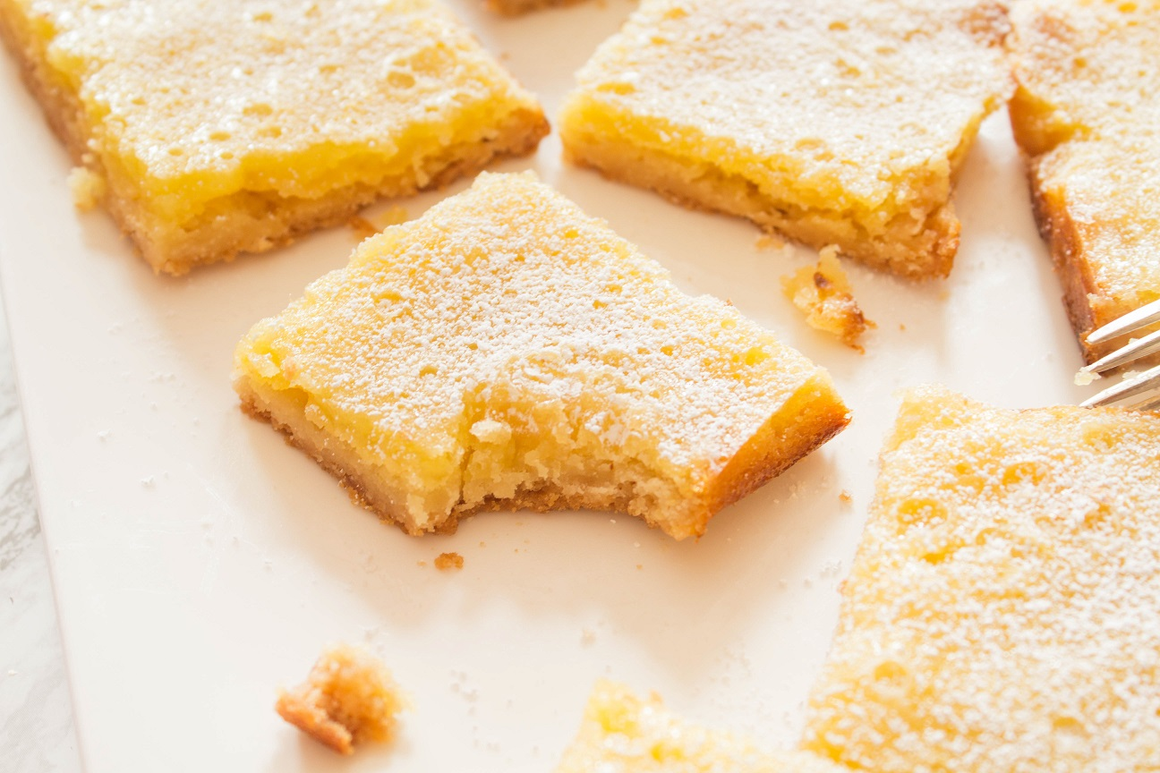 Meyer Lemon Citrus Bars