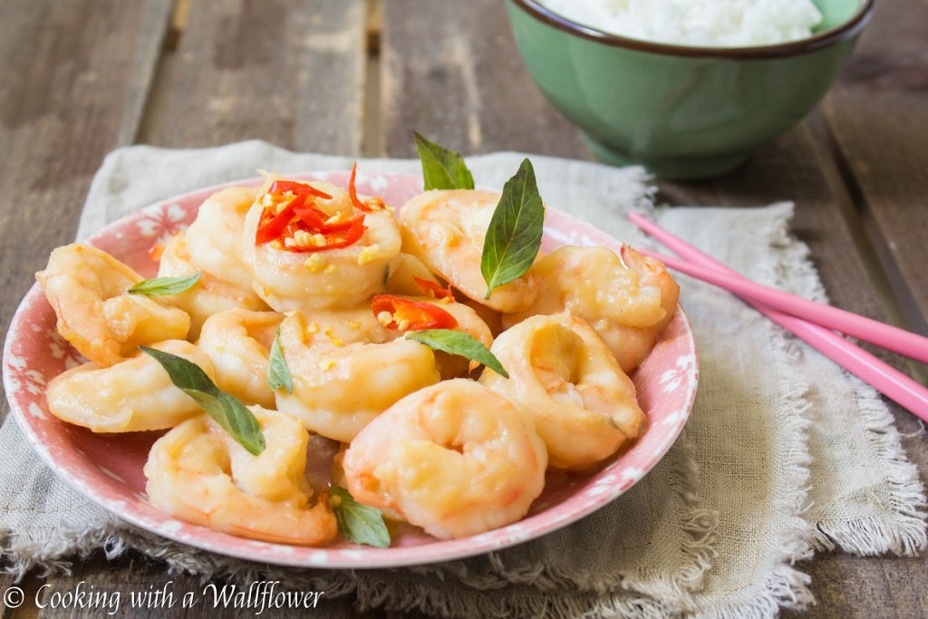 Miso Glazed Shrimp   Cooking with a Wallflower
