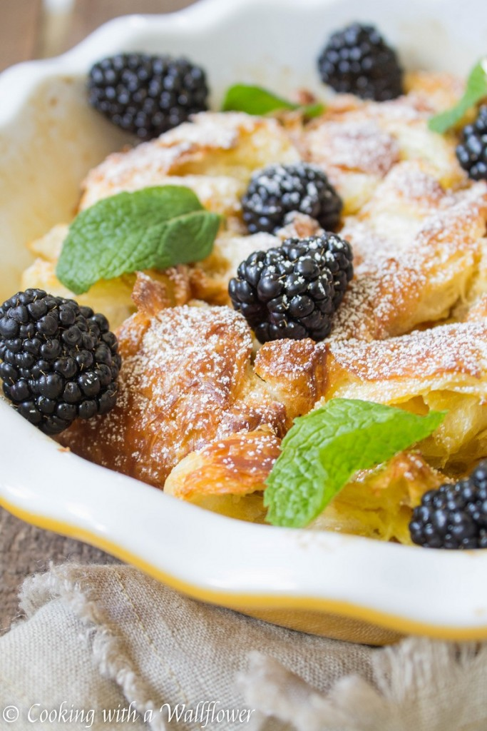 Citrus Croissant French Toast | Cooking with a Wallflower