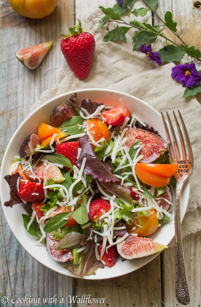 Strawberry Fig Caprese Salad   Cooking with a Wallflower