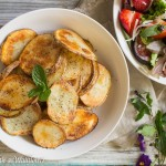 Baked Sea Salt and Pepper Potato Chips