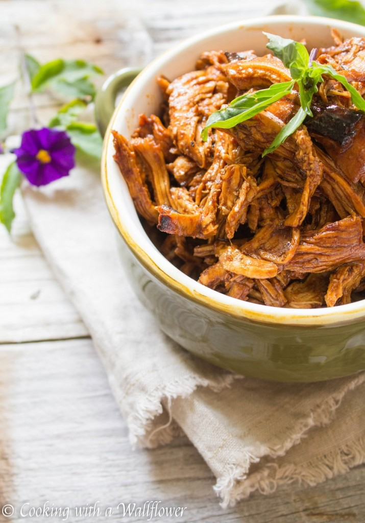 Honey BBQ Shredded Chicken | Cooking with a Wallflower