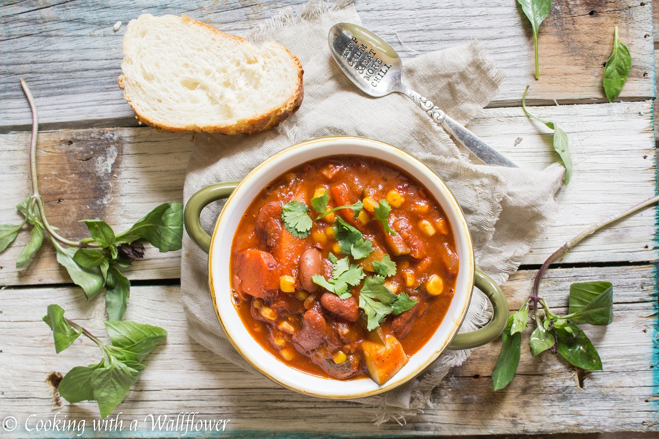 Spicy Summer Vegetable Chili