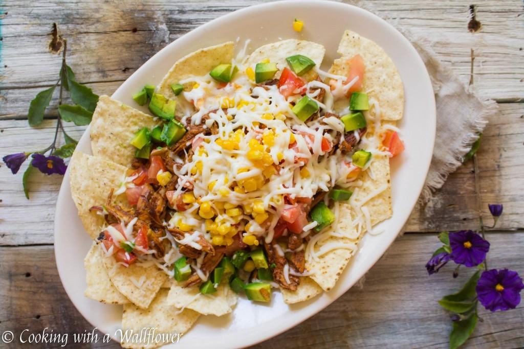 Honey BBQ Chicken Nachos | Cooking with a Wallflower