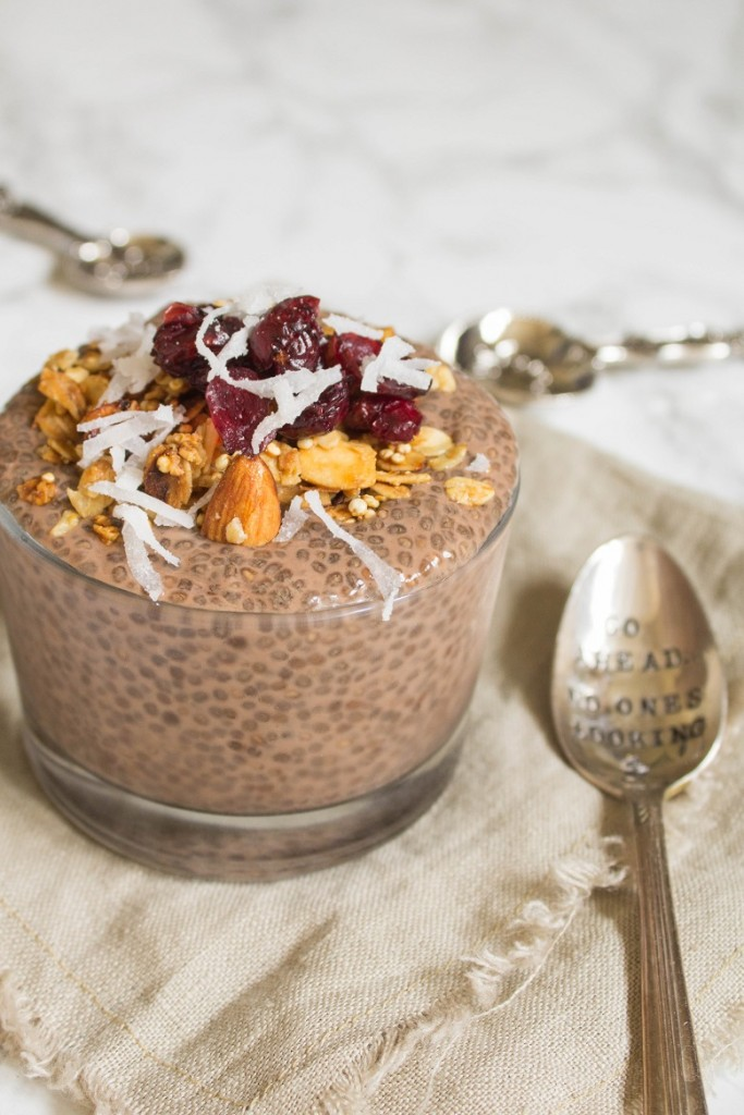 Overnight Chocolate Chia Pudding | Cooking with a Wallflower