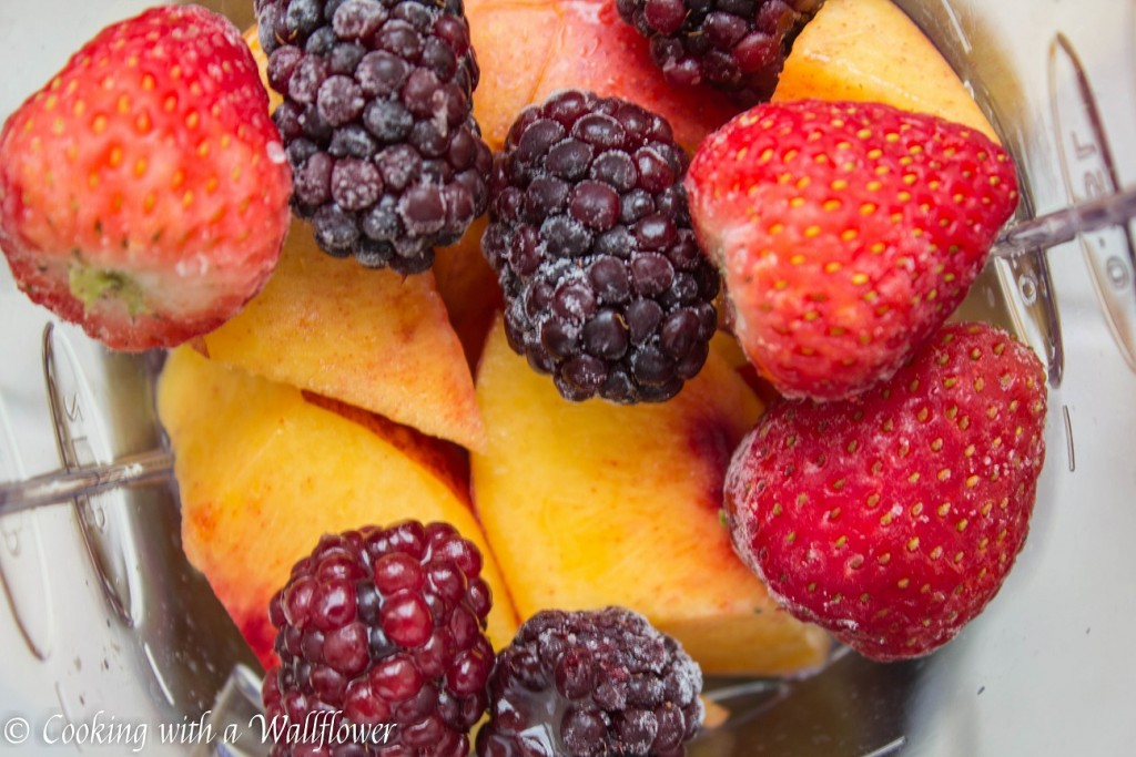 Peach Berry Sunrise | Cooking with a Wallflower