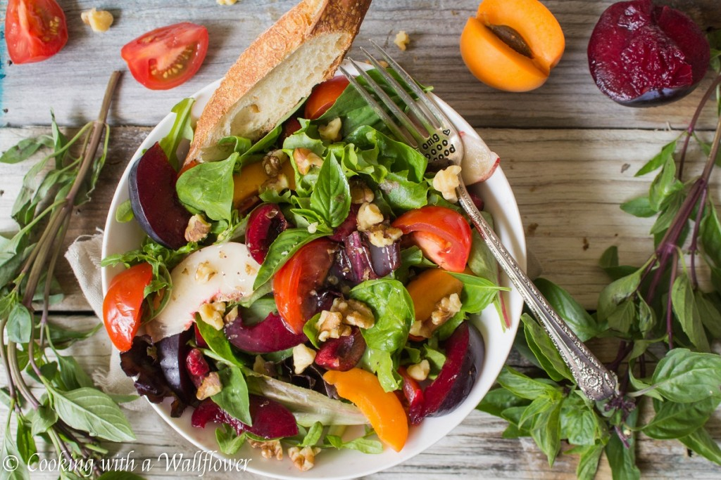 Stone Fruit Salad | Cooking with a Wallflower