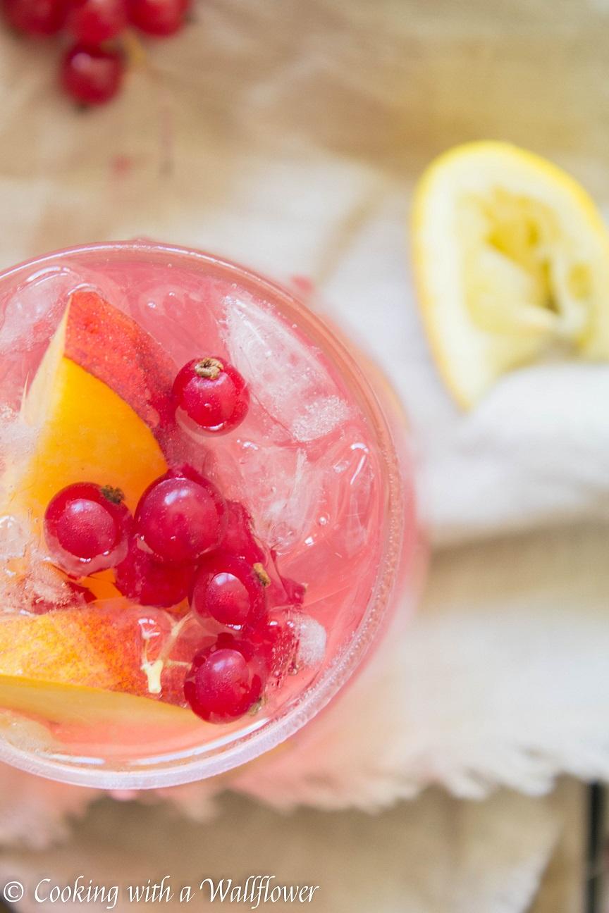 White Zinfandel Sangria Lemonade