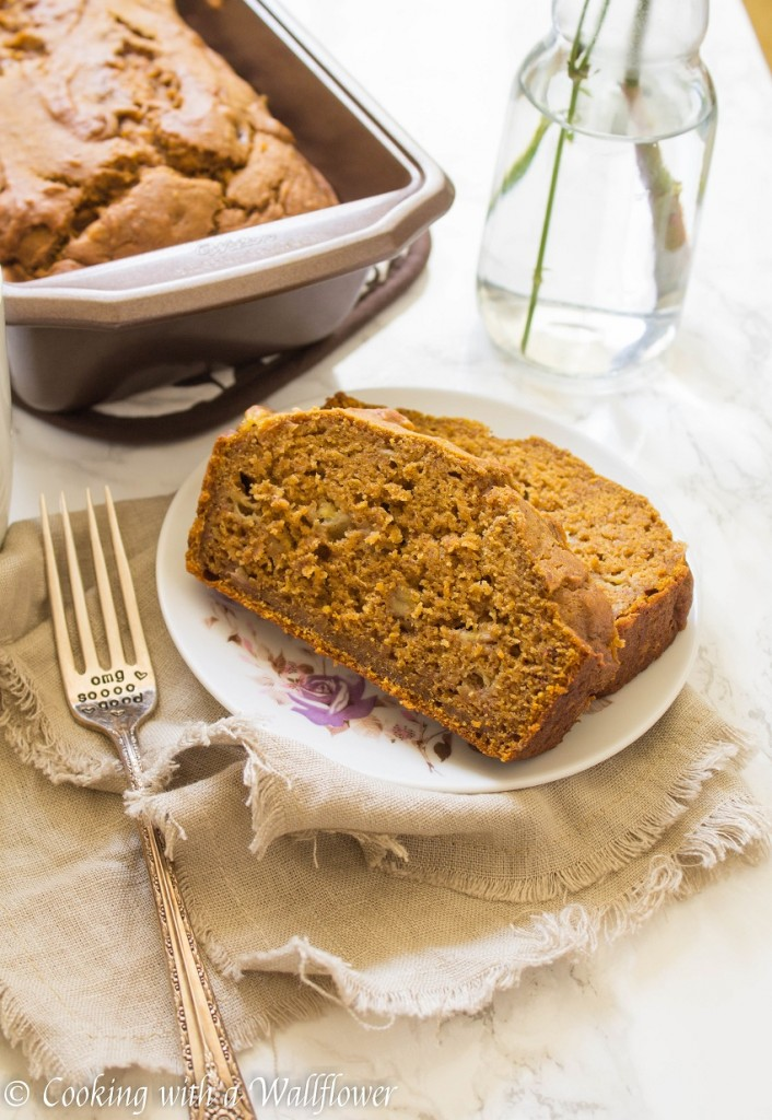 Pumpkin Banana Bread | Cooking with a Wallflower