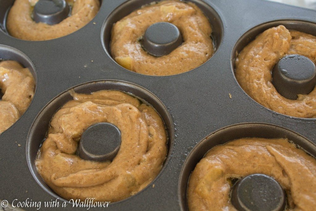 Apple Cider Doughnuts with Maple Glaze | Cooking with a Wallflower