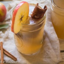 Apple Pear Cider   Cooking with a Wallflower