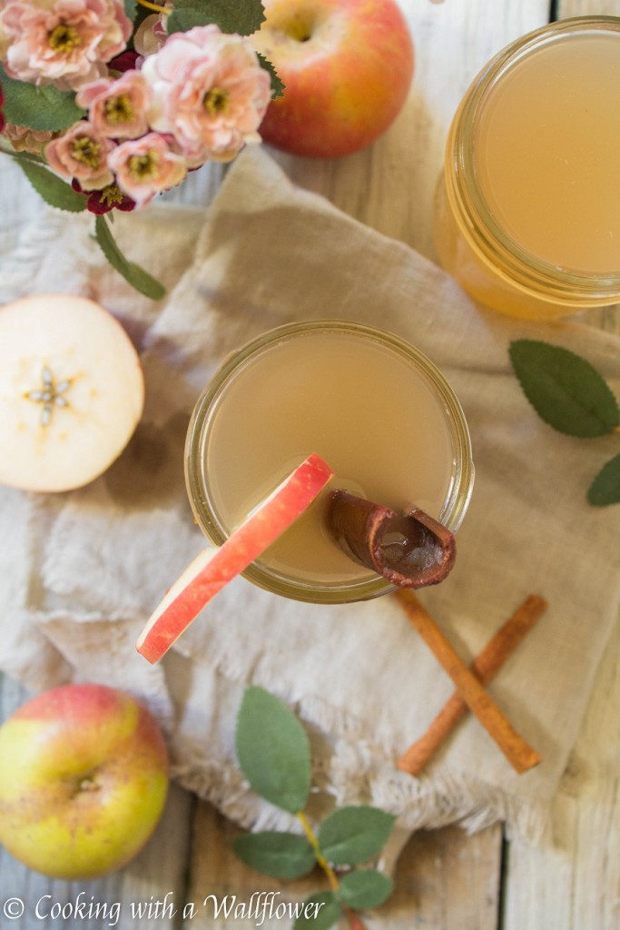 Apple Pear Cider | Cooking with a Wallflower