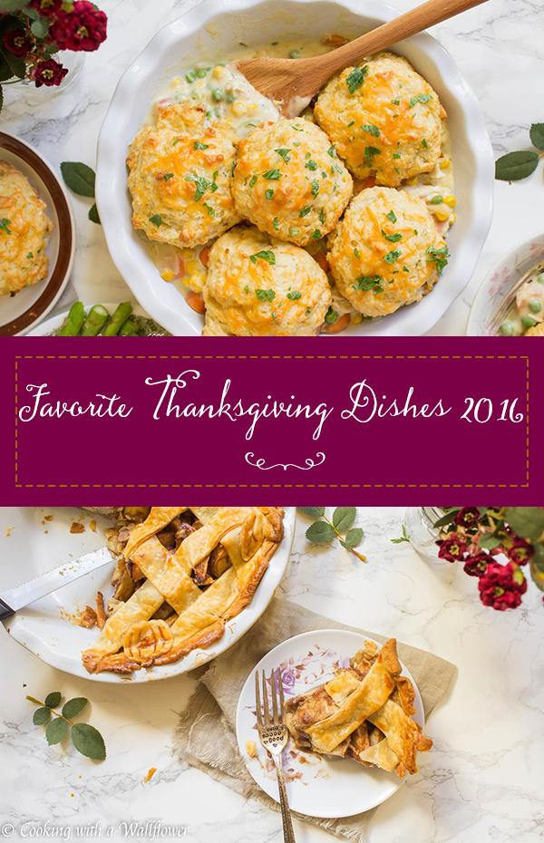 Favorite Thanksgiving Dishes 2016 | Cooking with a Wallflower
