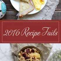 2016 Recipe Fails | Cooking with a Wallflower