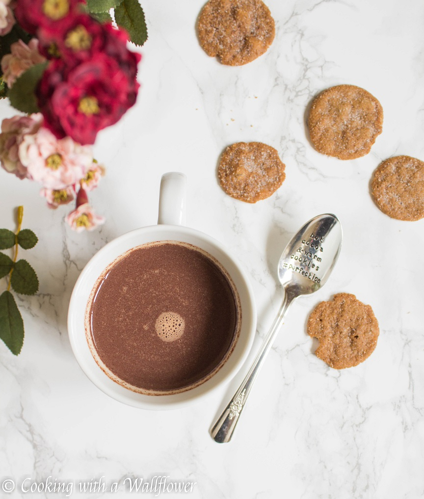 Hazelnut Hot Chocolate | Cooking with a Wallflower