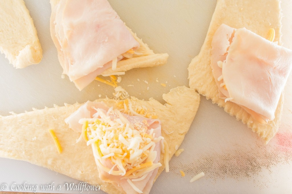 Ham and Cheese Crescent Rolls   Cooking with a Wallflower