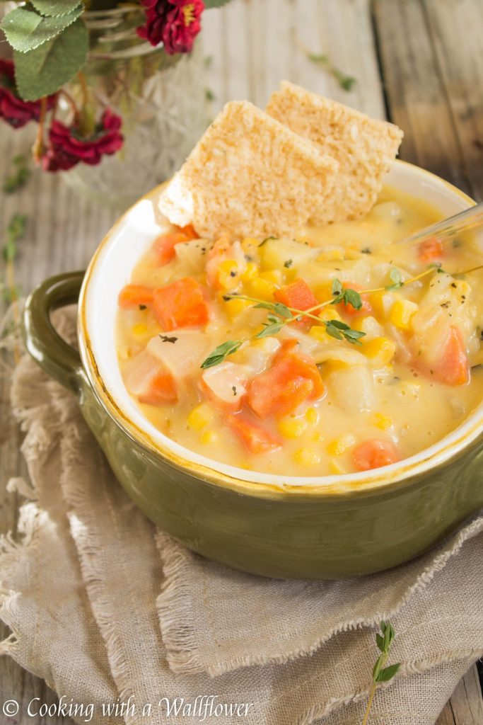 Corn and Potato Chowder | Cooking with a Wallflower