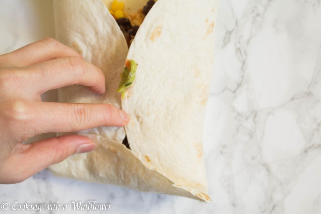 Spicy Chipotle Chicken Burritos | Cooking with a Wallflower